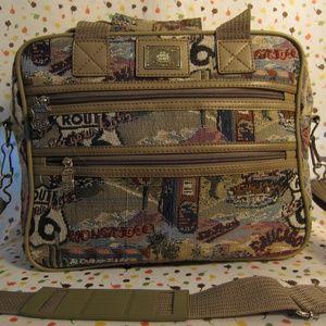 Vintage Route 66 Bag Purse Luggage